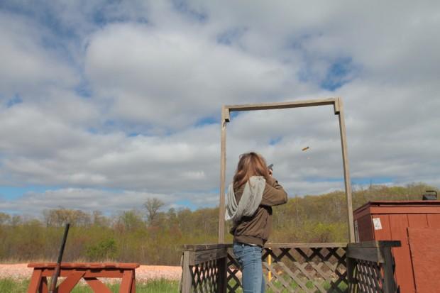 Amanda Bourne Shooting Trap