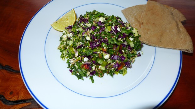 Greek salad transformed
